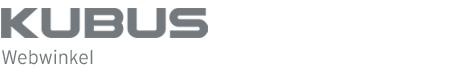 KUBUS webwinkel