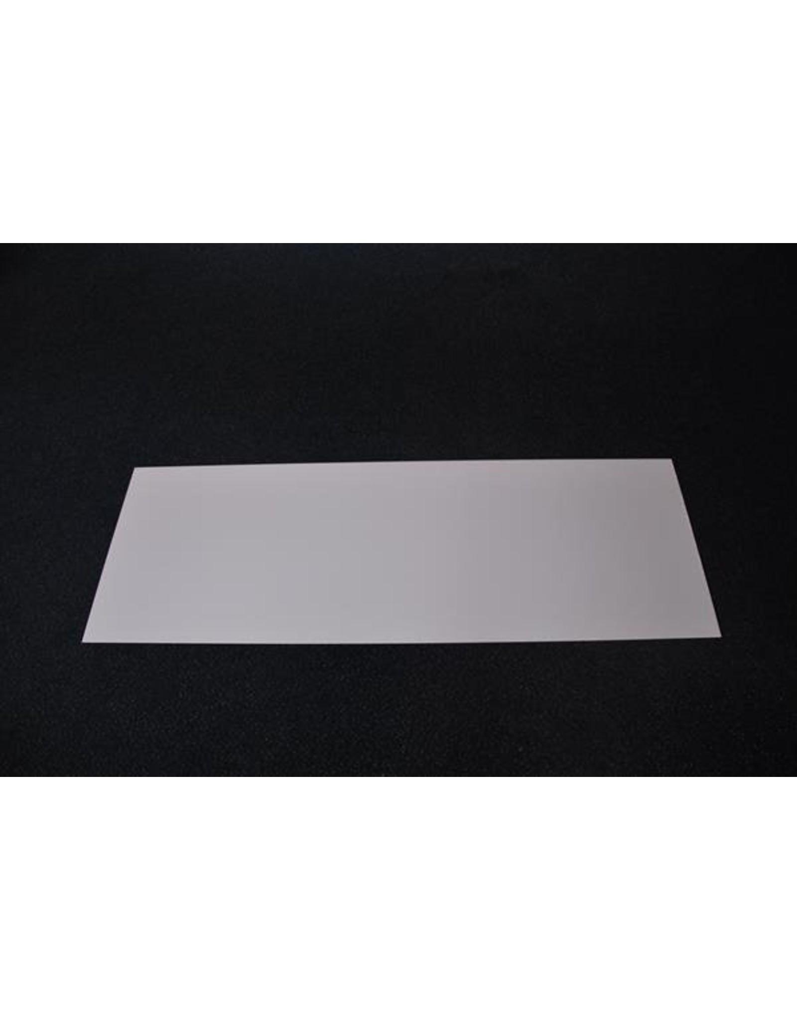 Frontplaat voor AeroSlim 24V Led Opbouw lichtreclame 30 cm