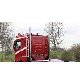 Dakrek Volvo FH4 met steunen