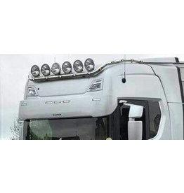 Scania Zonneklep Scania NG / Kunststof 40 cm met 5 toplamp gaten
