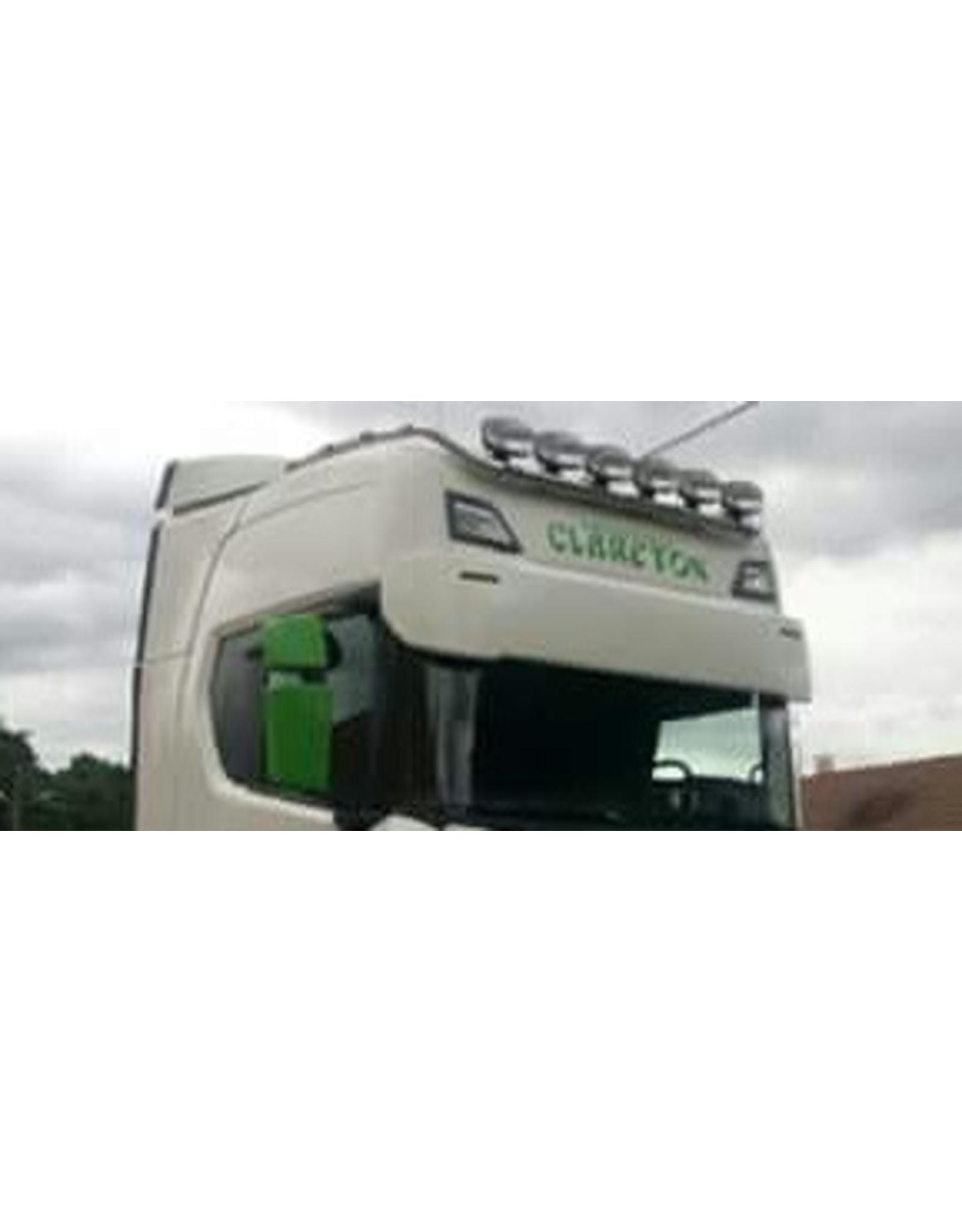Scania Zonneklep Scania NG / Kunststof 40 cm met 2 toplamp gaten