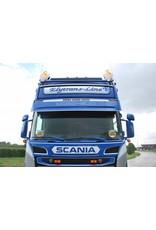 Scania Zonneklep Scania R Topline /Highline Coles 5 toplamp gaten