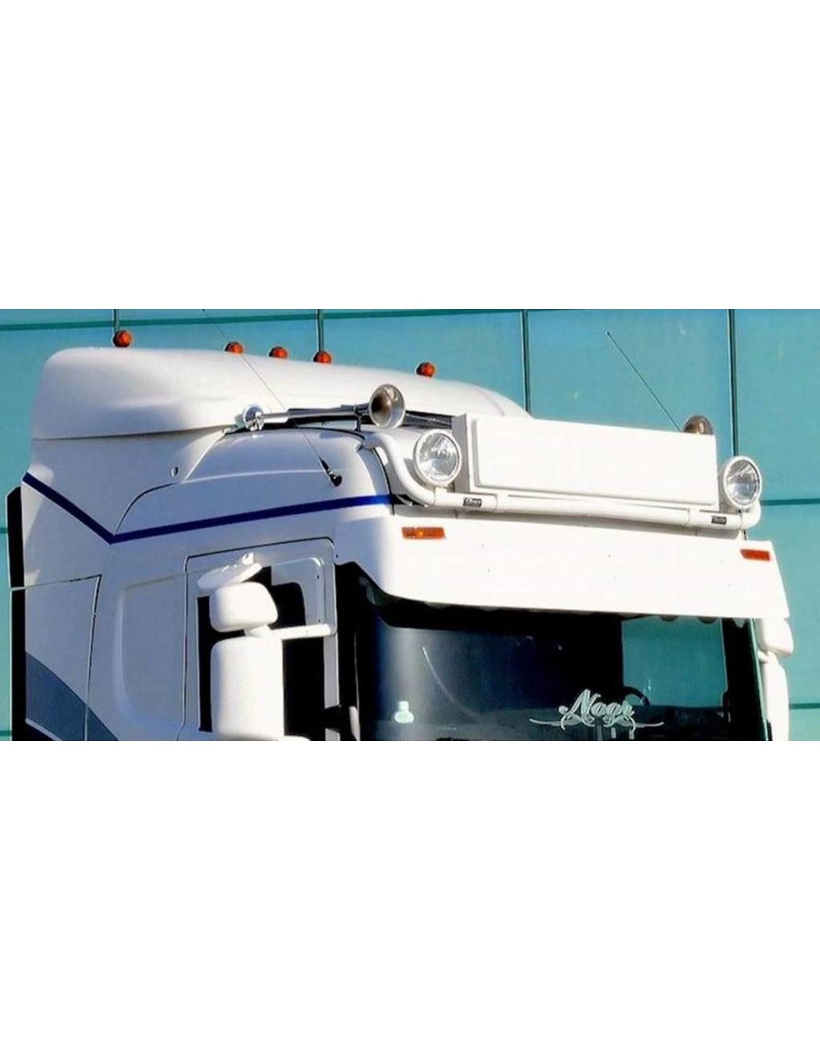 Scania Zonneklep Scania R Topline/Highline Coles 2 toplamp gaten