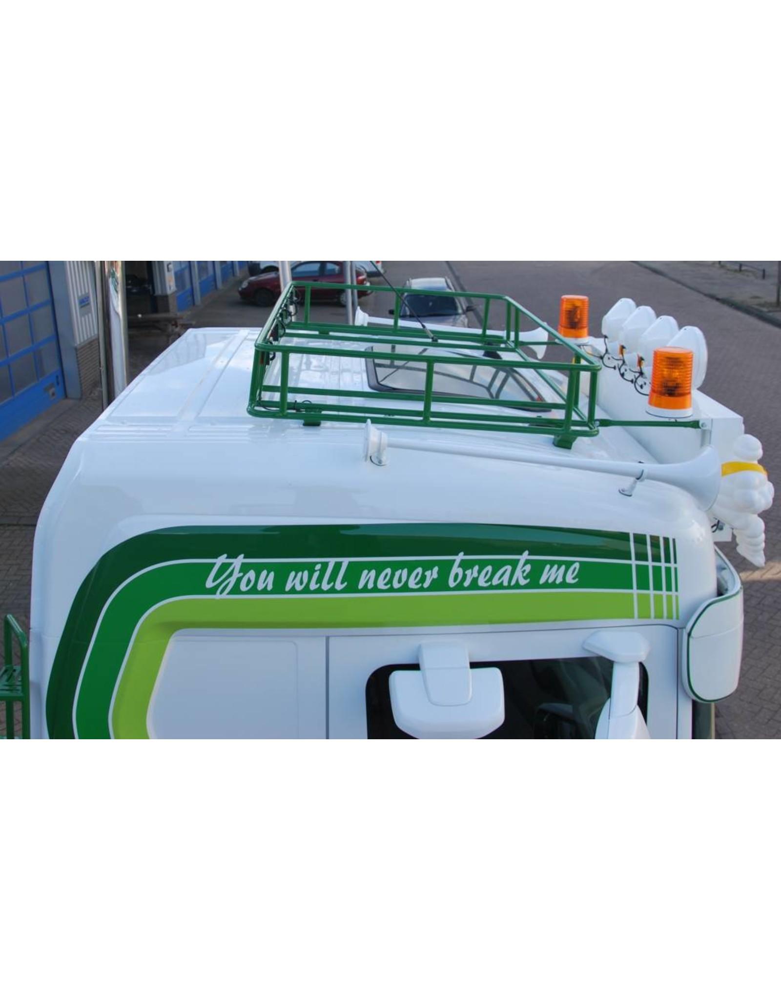 Dakrek Scania NG met steunen