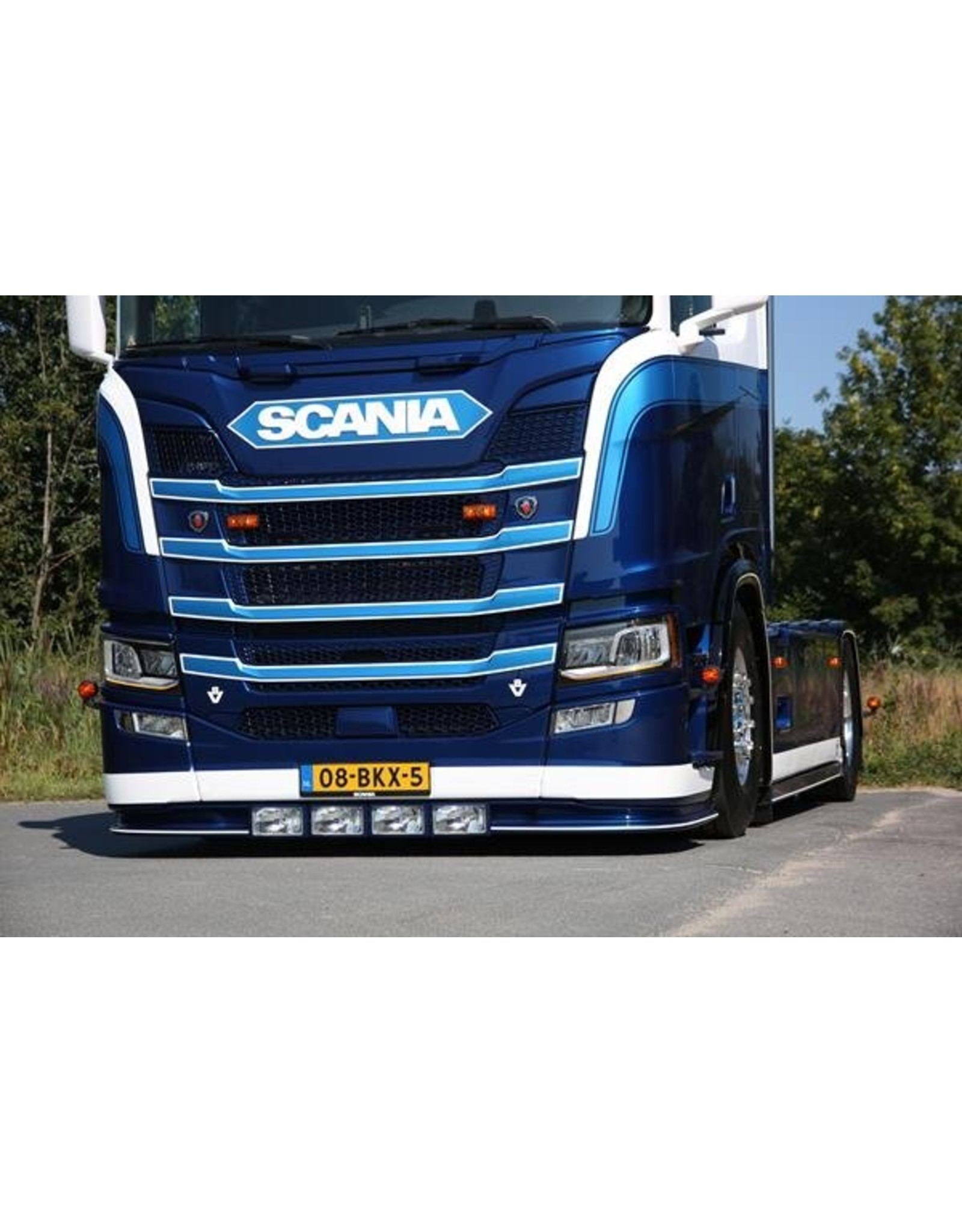 Scania Bumper Spoiler Scania NG