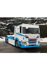 Scania Zonneklep Scania NG met boog / Truckstyle