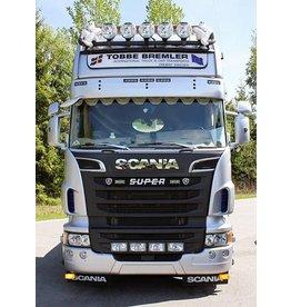Scania Zonneklep Scania R Topline/Highline Truckstyle 5 toplamp gaten -