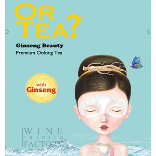 Or Tea Ginseng Beauty Wellbeing Tea Series