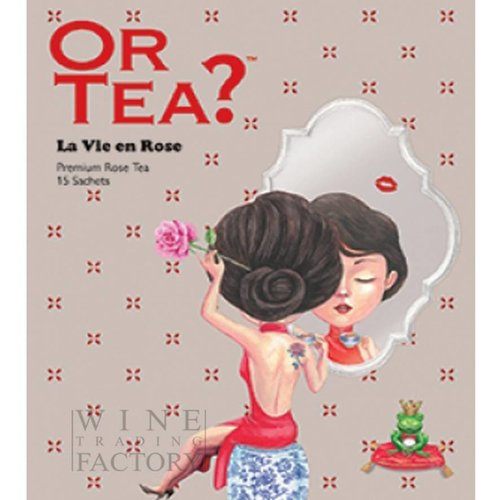 Or Tea La Vie en Rose Wellbeing Tea Series