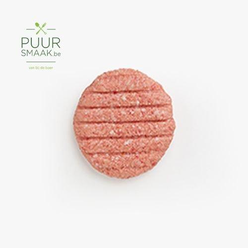 Gehaktburger Limousin/ varken