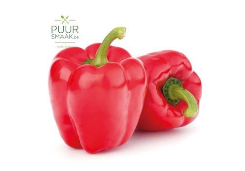 Paprika Rood Bio