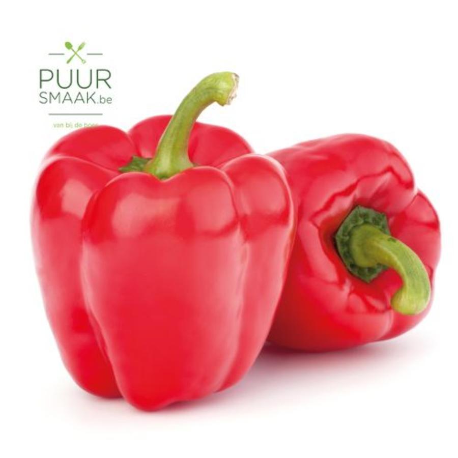 Paprika Rood  Bio-1