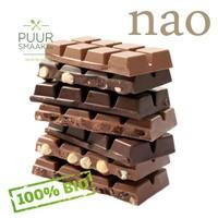 Bio Chocolade Melk met hazelnoten