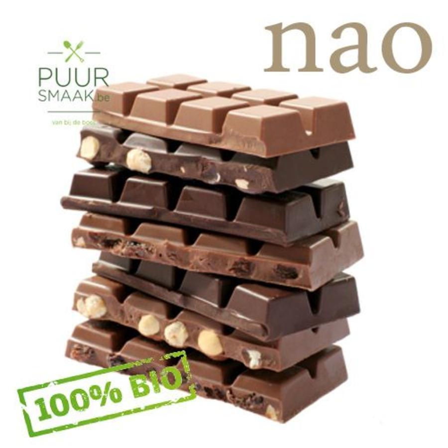 Bio Chocolade Melk met hazelnoten-1