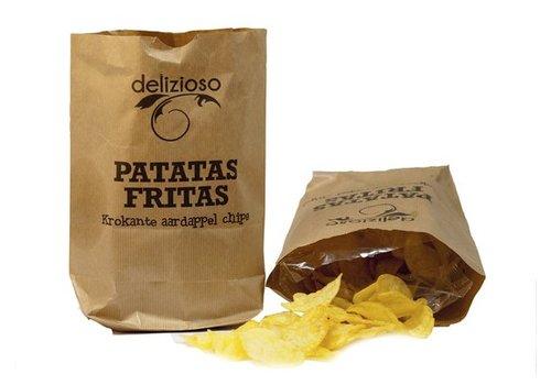 Patatas Fritas Delizioso Natuur