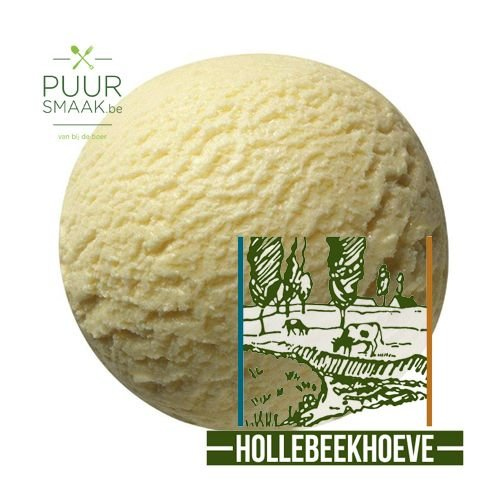 Banaan ijs Hollebeekhoeve Kruibeke
