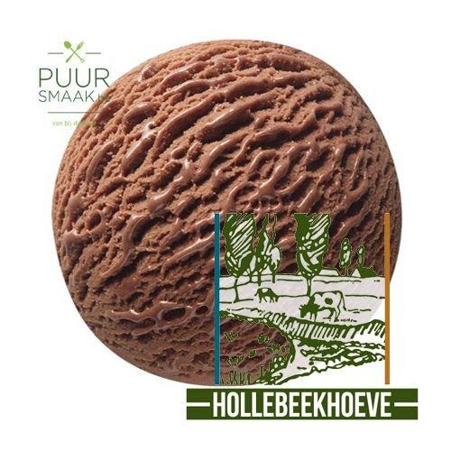 Chocolade ijs Hollebeekhoeve Kruibeke