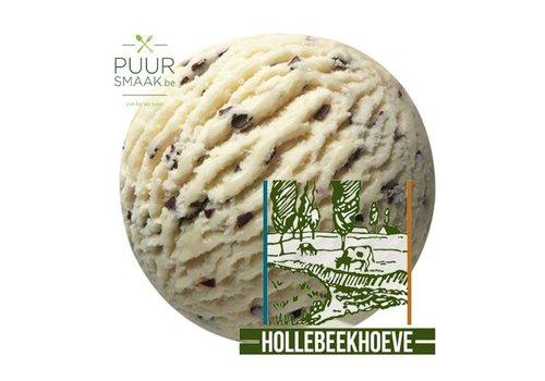 Stracciatella ijs Hollebeekhoeve Kruibeke