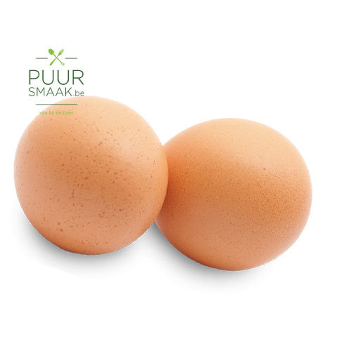 Verse eieren vrije uitloop