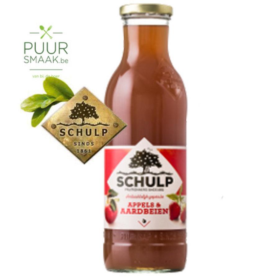 Sap van appel en aarbei De Schulp-1