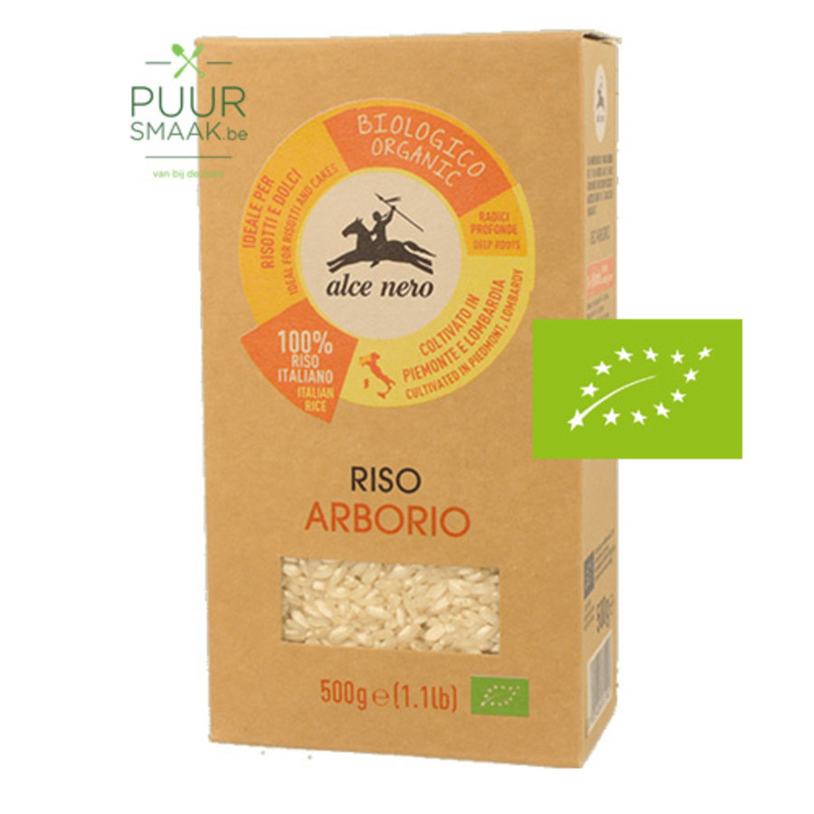 Arborio Rijst Bio Alce Nero-1