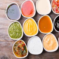 Verse sauzen uit de keuken van Puur Smaak