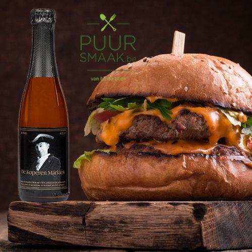 Streetfood burger of Fishburger luxe pakket 2 personen Puur Smaak