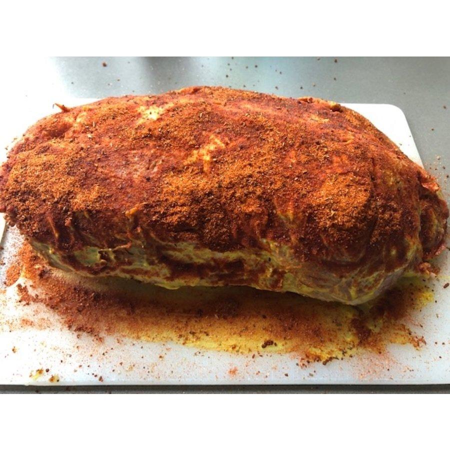 Spiering/ Vlees voor Pulled Pork (natuur of gekruid)-3