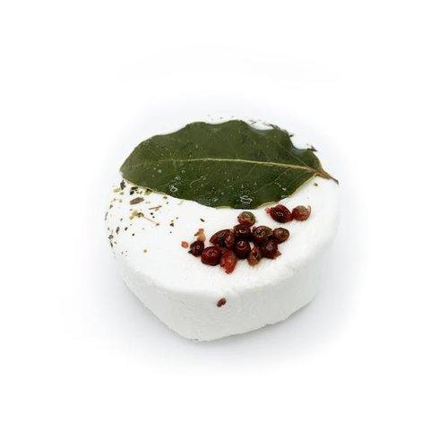 Geitenkaasje met olijfolie vers