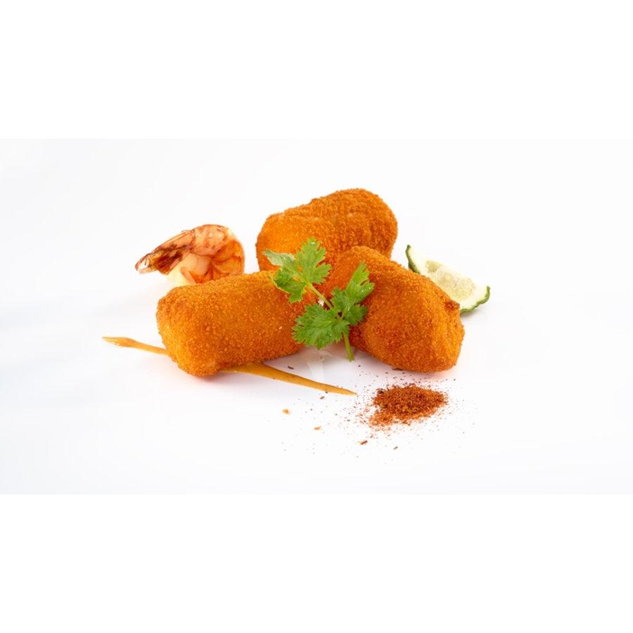 Ambachtelijke kroket scampi red curry  65gr-1