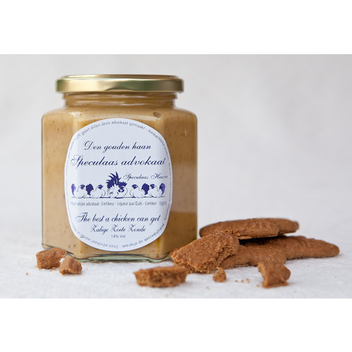 Artisanale advocaat speculoos