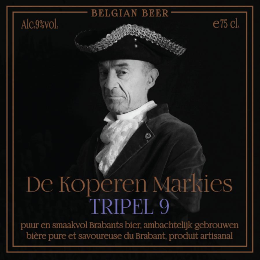 Koperen Markies Tripel 9-1