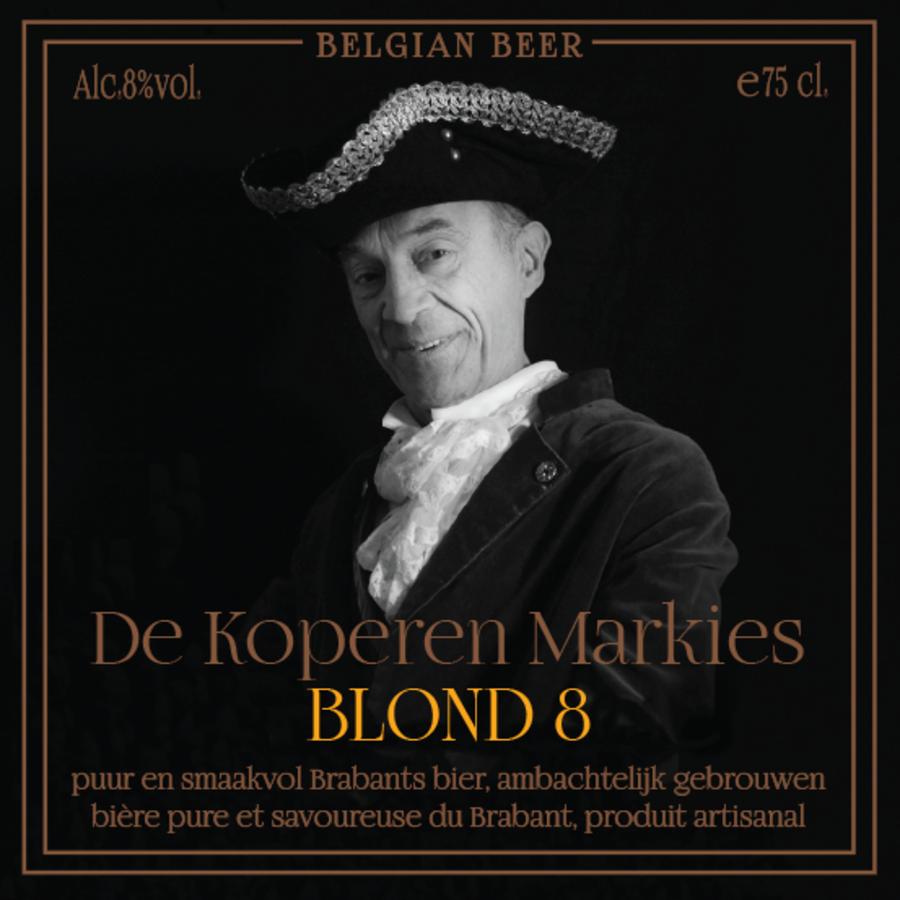 Koperen Markies Blond 8-1