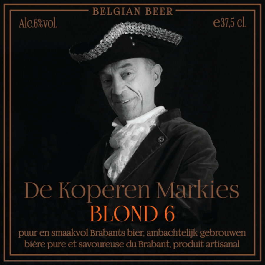 Koperen Markies Blond 6-1