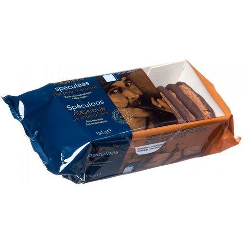Speculaas met chocolade rand van Aerts uit Lokeren