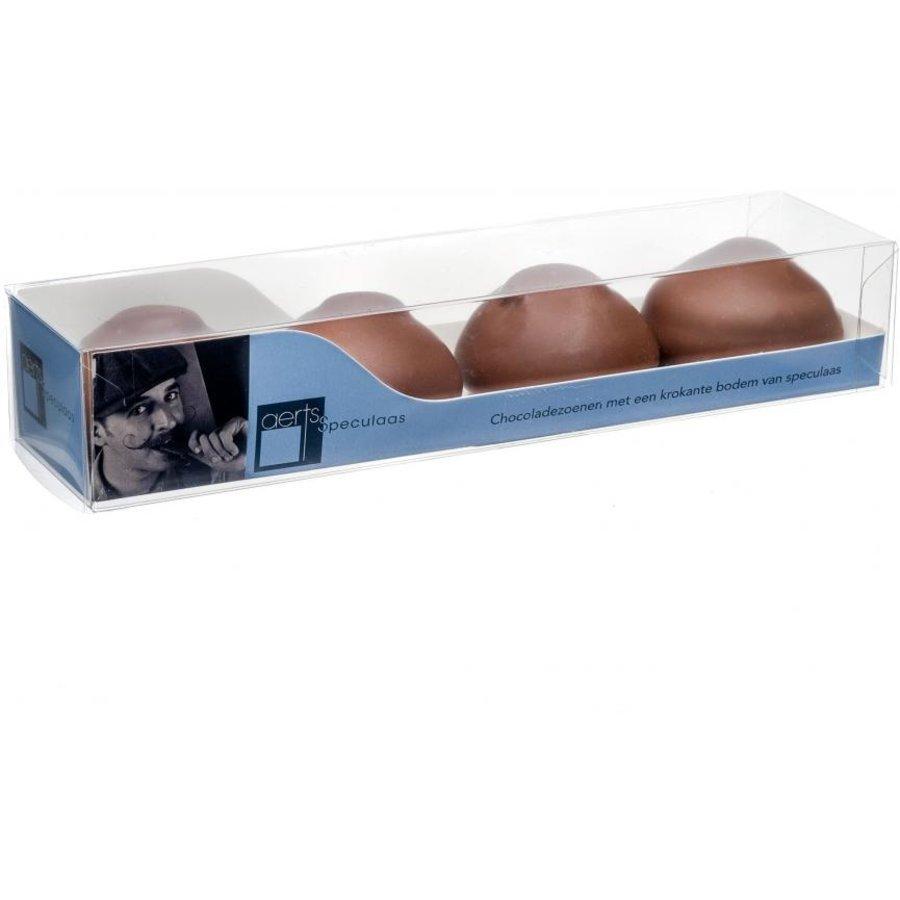 Chocolade zoenen melk van Aerts uit Lokeren-1