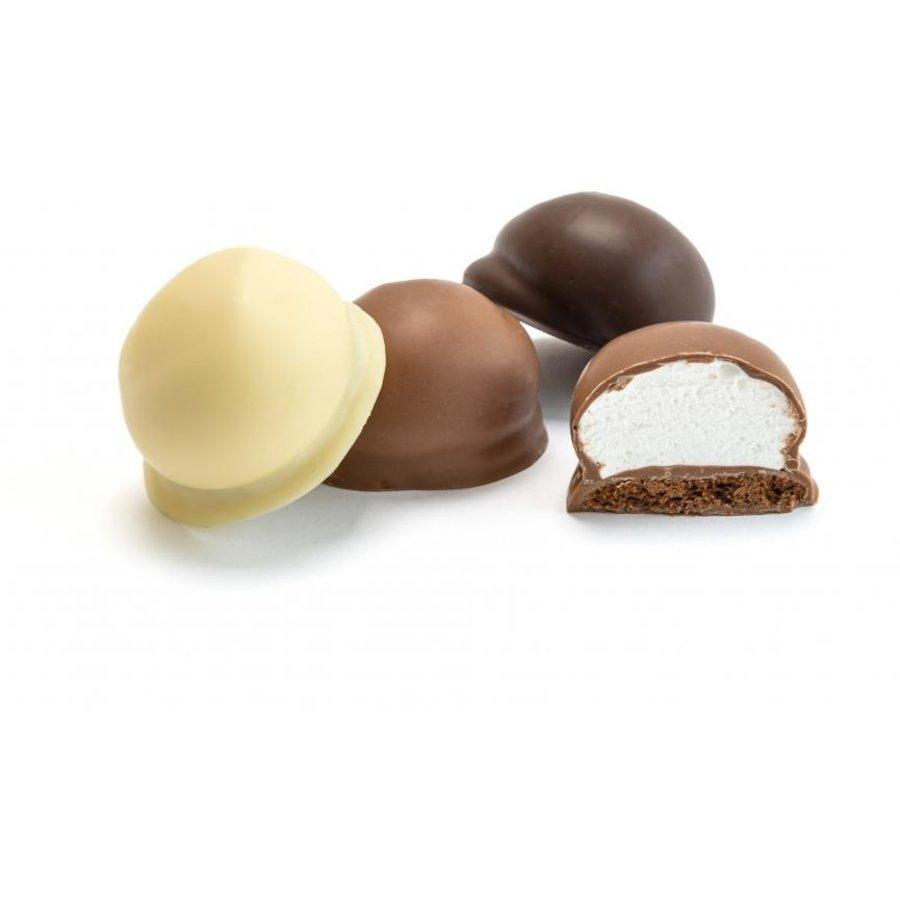 Chocolade zoenen wit van Aerts uit Lokeren-2
