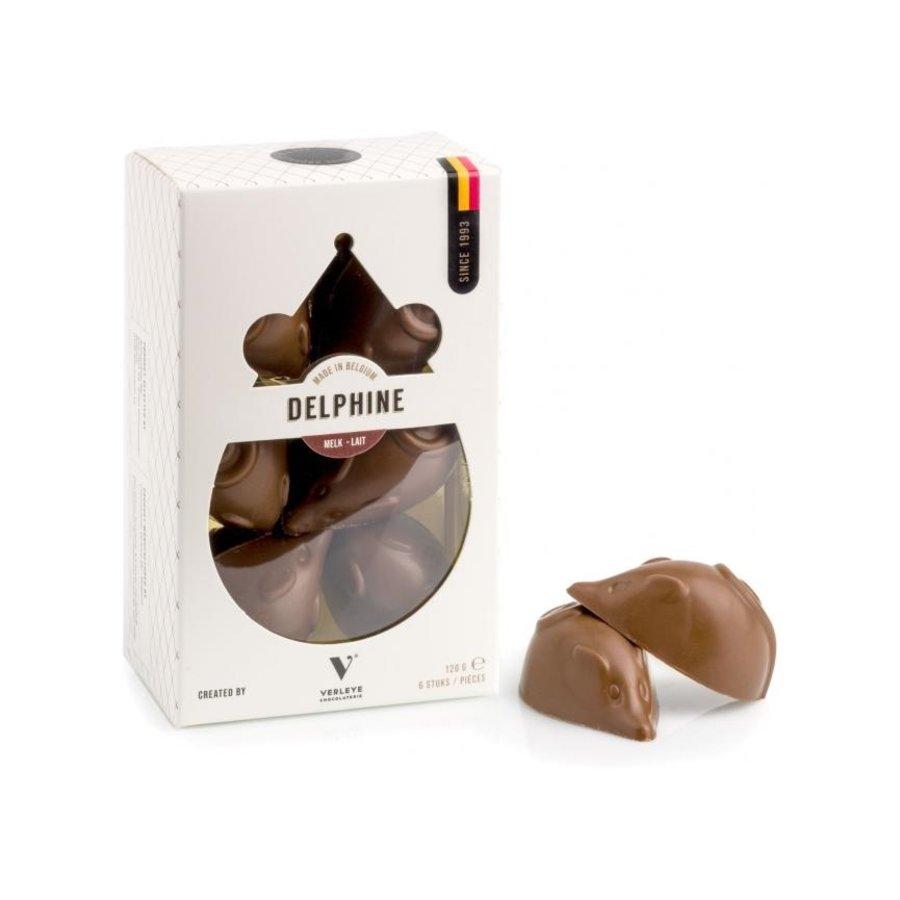 Chocolade muis melk praliné Verleye chocolaterie-1