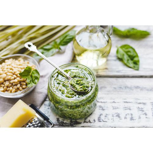 Authentieke groene pesto