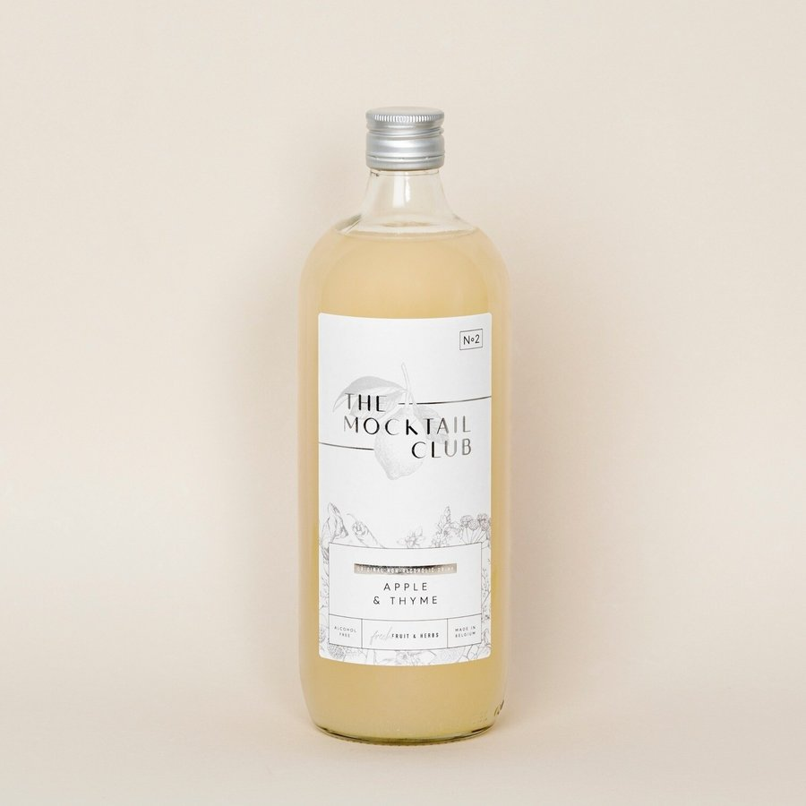 Apple & Thyme Mocktail-2
