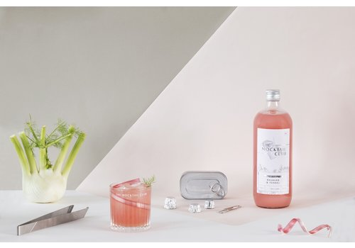 Rhubarb & Fennel Mocktail