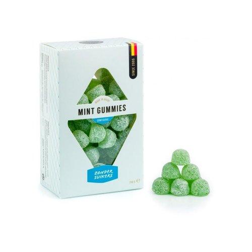 Suikervrije muntsnoepjes in geschenkverpakking