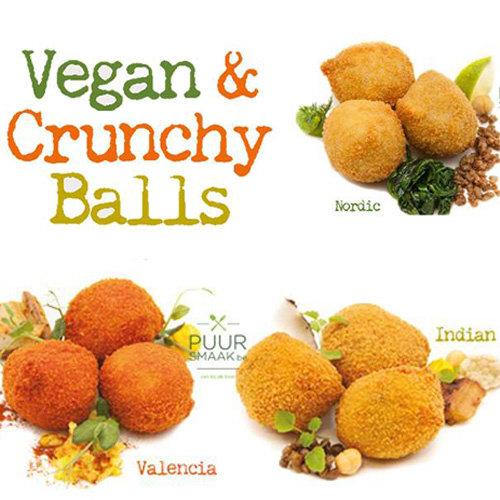 Ambachtelijke box vegan balls 3 x10st (30gr)