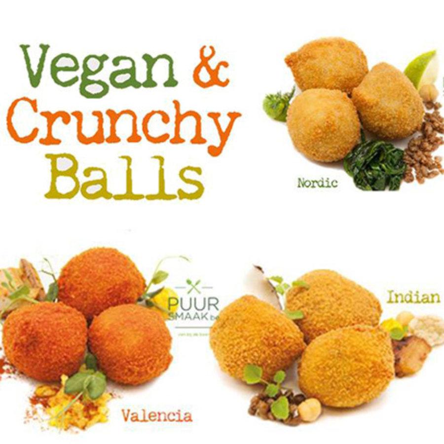 Ambachtelijke box vegan balls 3 x10st (30gr)-1