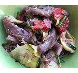 'SdL' Salade gepekelde eend/artisjok