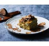 Aardappel/gorgonzola lasagna (VEGA)