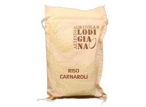 Risotto Carnaroli, linnen zak