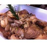 Roscoff ui/geglaceerd/ balsamico/honing (VEGA)