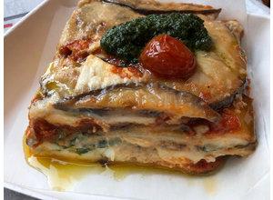 Melanzane alla parmigiana (vegetarisch)