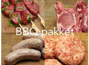 BBQ pakket B - 1 persoon